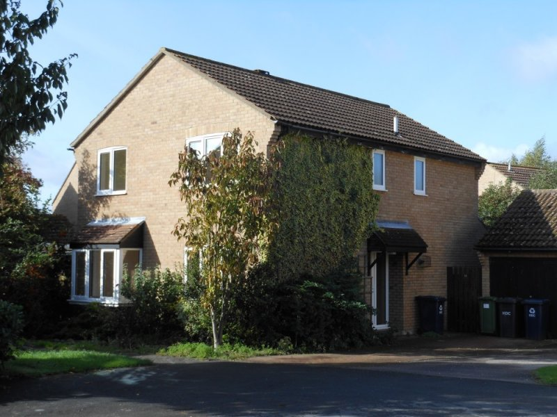 Large 4 bedroom house to rent Godmanchester – Peate Close, Godmanchester